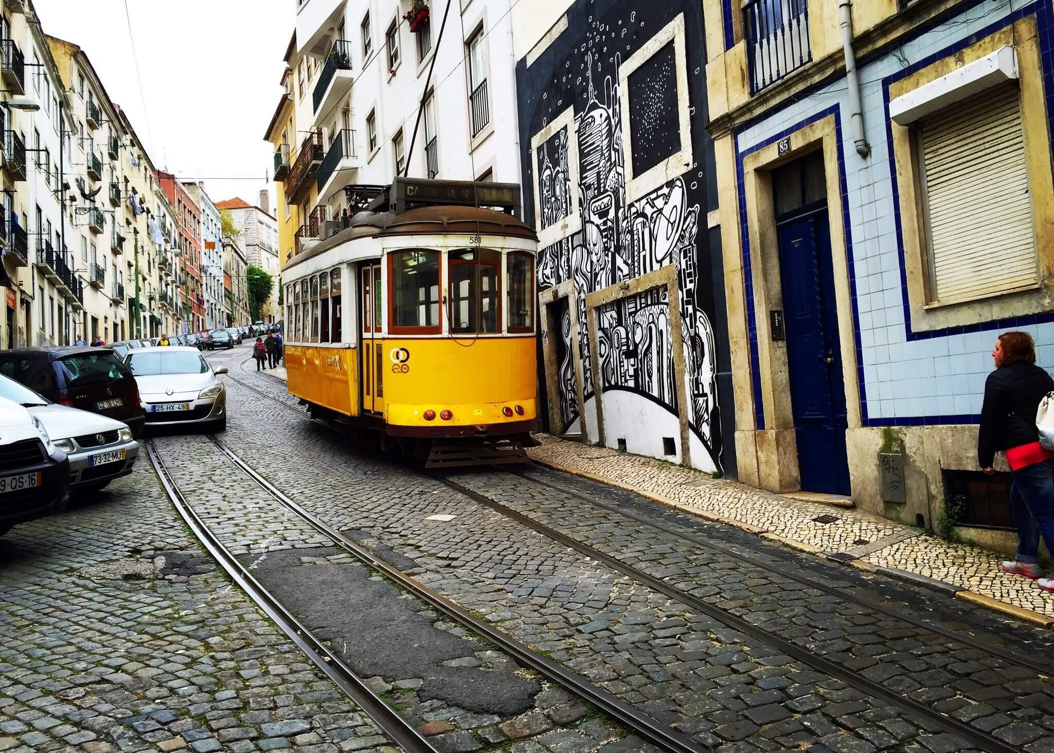 La Perfection Imparfaite Des Rues De Lisbonne The